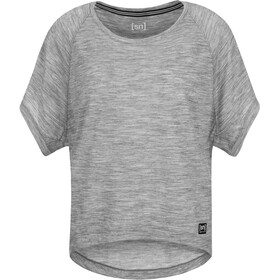 super.natural Motion Peyto Tee Women Ash Melange